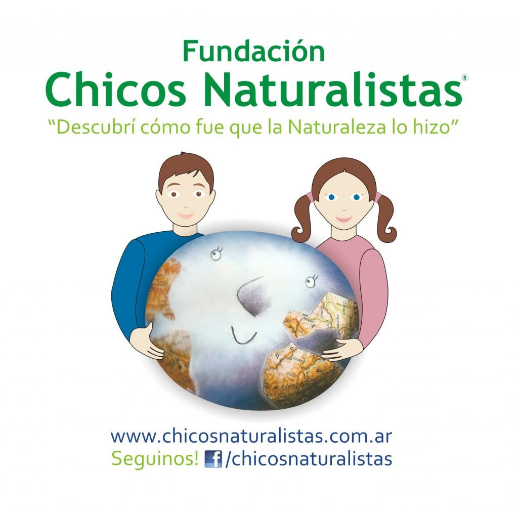 Logo Fundación Chicos Naturalistas 2013