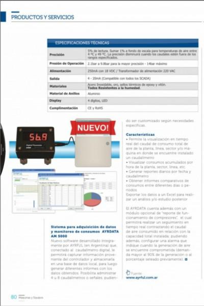 Nota Caudalímetros - Máquinas y Equipos Junio 2015 3