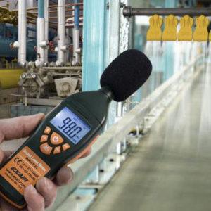 medir el nivel de sonido industria