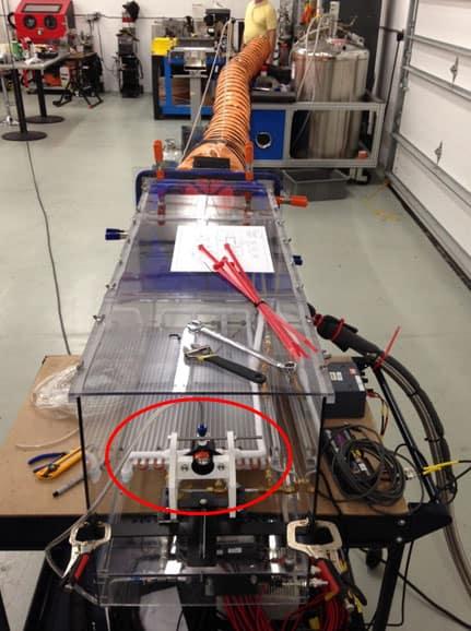Amplificadores de aire brindan aire seguro en misiones de rescate en minas