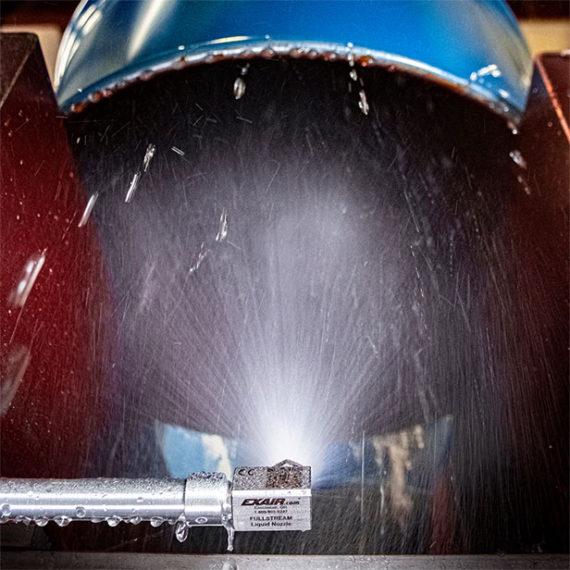Boquilla de líquido FullStream 3/8 NPT para enfriar, lavar y enjuagar
