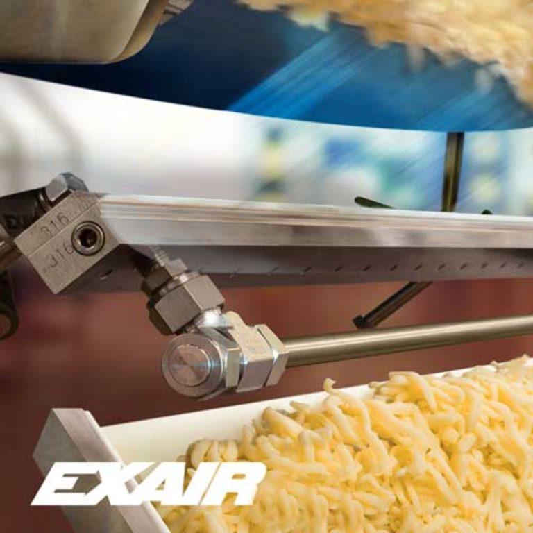 aplicación industrial cortina de aire